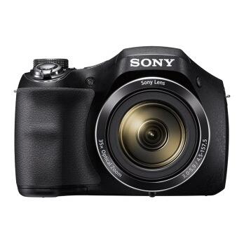 索尼(SONY) DSC-H300 数码相机 黑色(2010万有效像素 35倍光学变焦 3英寸液晶屏 25mm广角)